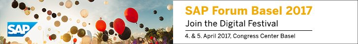 SAP Forum Basel 2017 Banner