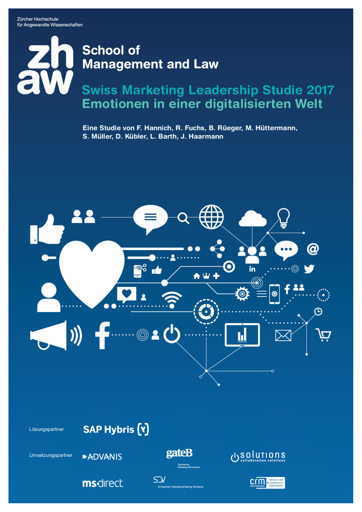 Titelblatt Swiss Marketing Leadership Studie 2017