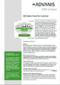 Flyer SAP Hybris Cloud for Customer