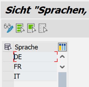 Einschränkung Sprache bei Notizen in SAP CRM
