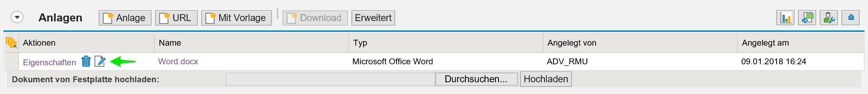Eine der SAP CRM Innovationen: Bearbeitung von Worddokumenten in SAP CRM