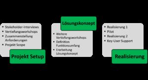 C4C Projekt Setup Lösungskonzept Realisierung