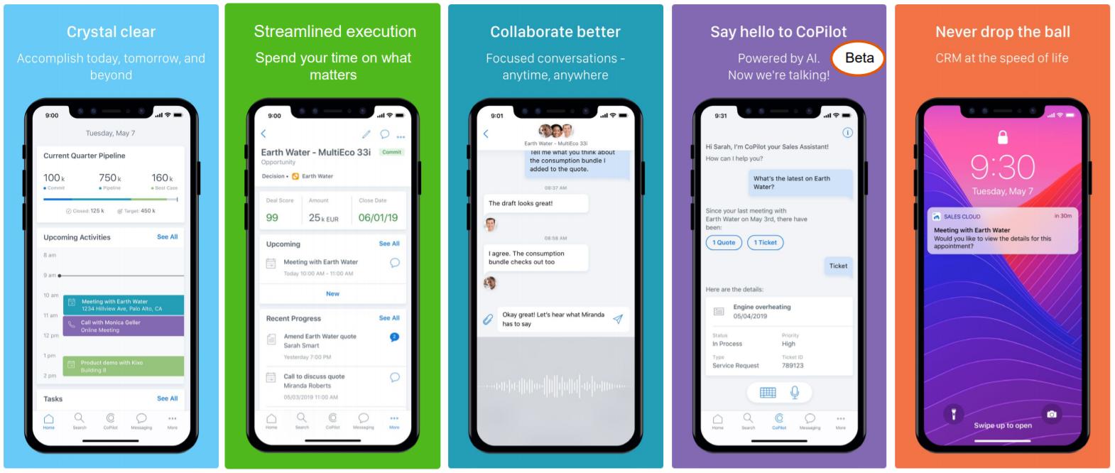 Neue zusätzliche Mobile App für B2B Sales Szenarien