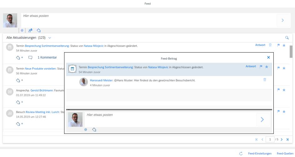 Effektive Kollaboration durch Tools der SAP Sales Cloud Prozesse